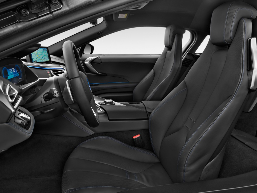 Image 2014 Bmw I8 2 Door Coupe Front Seats Size 1024 X