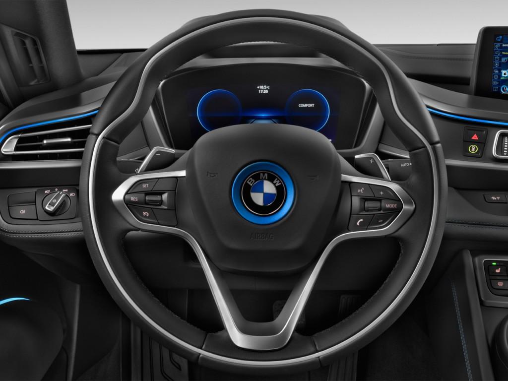 Image 2014 Bmw I8 2 Door Coupe Steering Wheel Size 1024