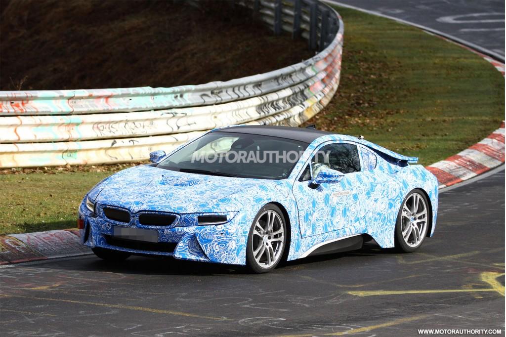 2014 BMW i8 spy shots