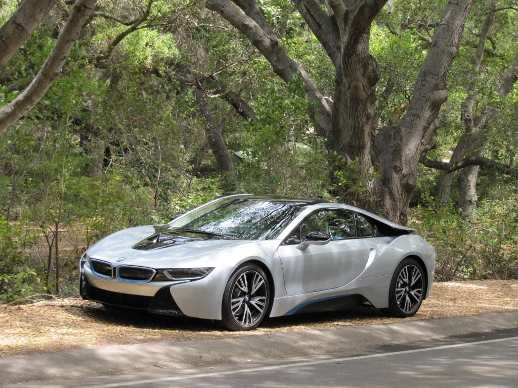 2015 BMW i8, test drive around Malibu, CA,