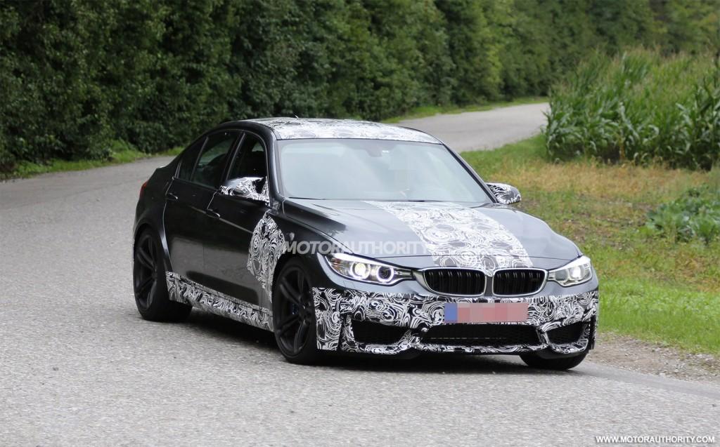 BMW M Spy Shots - 2014 bmw m3