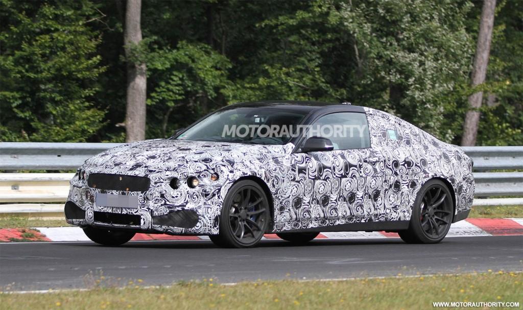 2014 BMW M4 spy shots