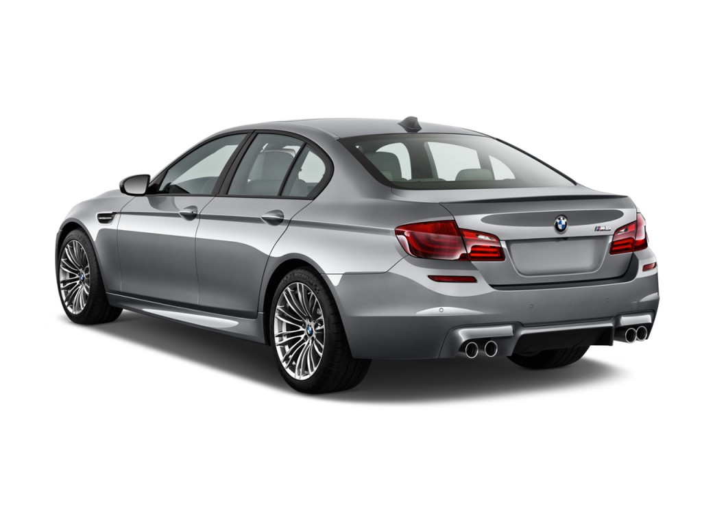 Image 2014 Bmw M5 4 Door Sedan Angular Rear Exterior View Size 1024 X 768 Type Gif Posted
