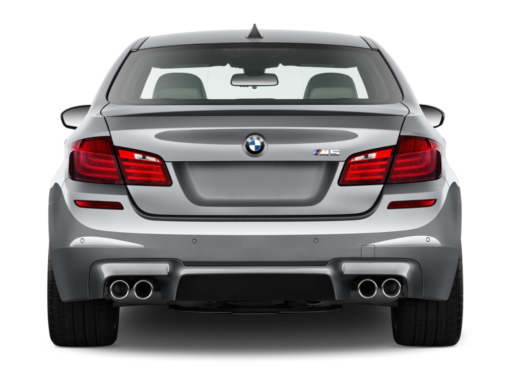 Image 2014 Bmw M5 4 Door Sedan Rear Exterior View Size 1024 X 768 Type Gif Posted On