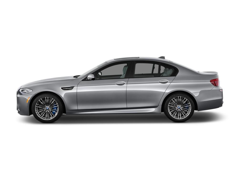 Image: 2014 BMW M5 4-door Sedan Side Exterior View, size ...