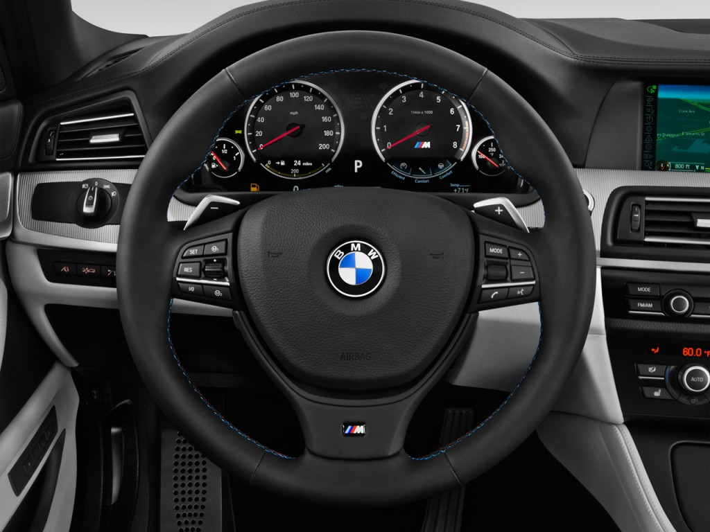 Image 2014 Bmw M5 4 Door Sedan Steering Wheel Size 1024