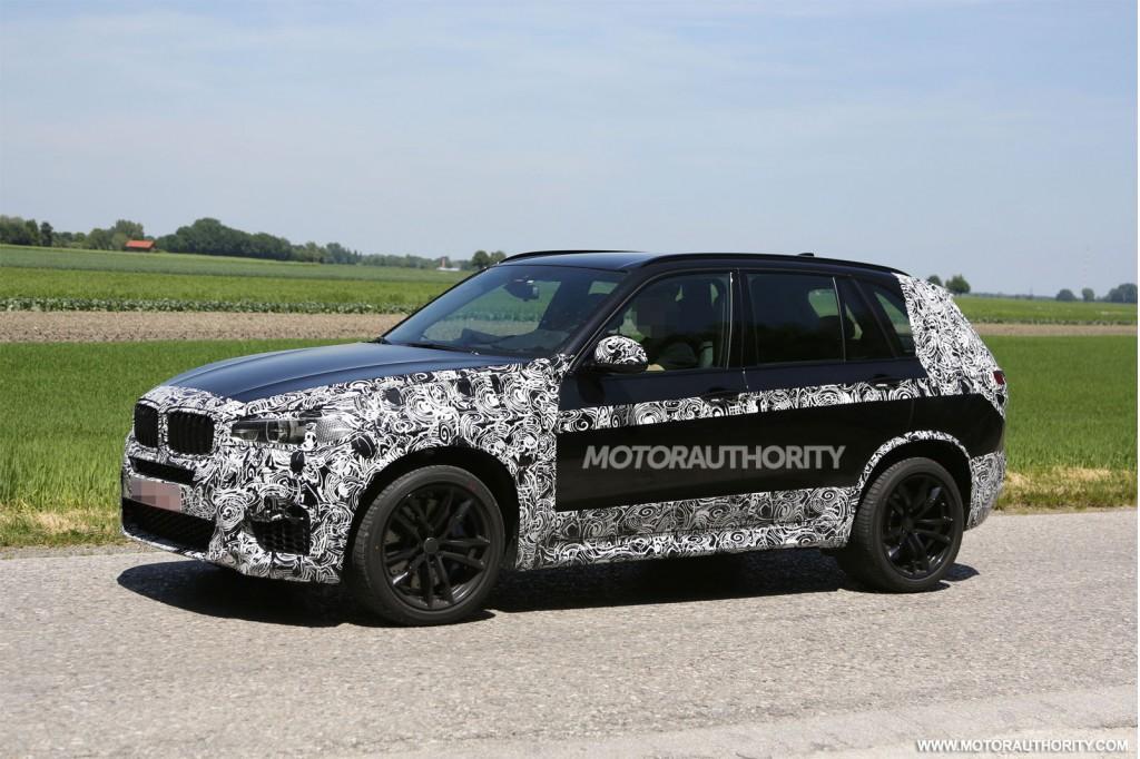 2015 BMW X5 M spy shots