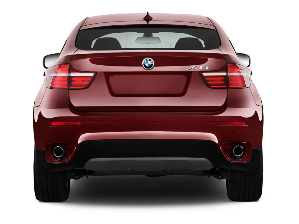 Image 2014 Bmw X6 Awd 4 Door 35i Rear Exterior View Size