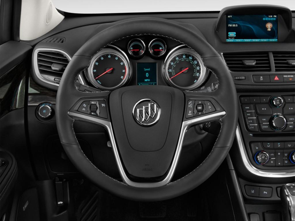 Image 2014 Buick Encore Fwd 4 Door Steering Wheel Size