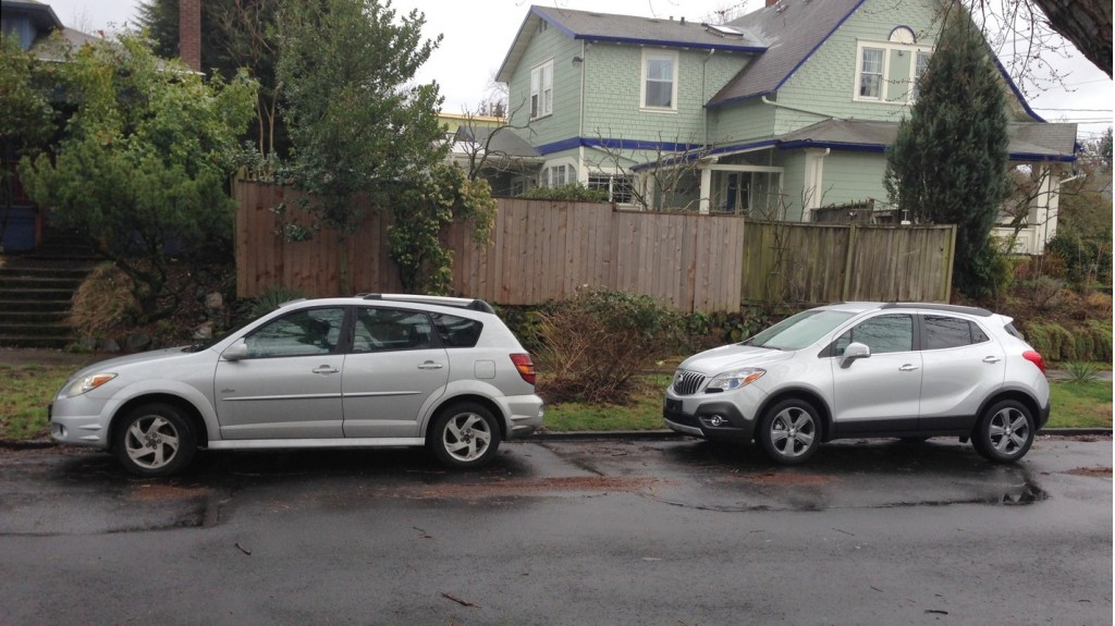 Image: 2014 Buick Encore, with Pontiac Vibe, size: 1024 x ...