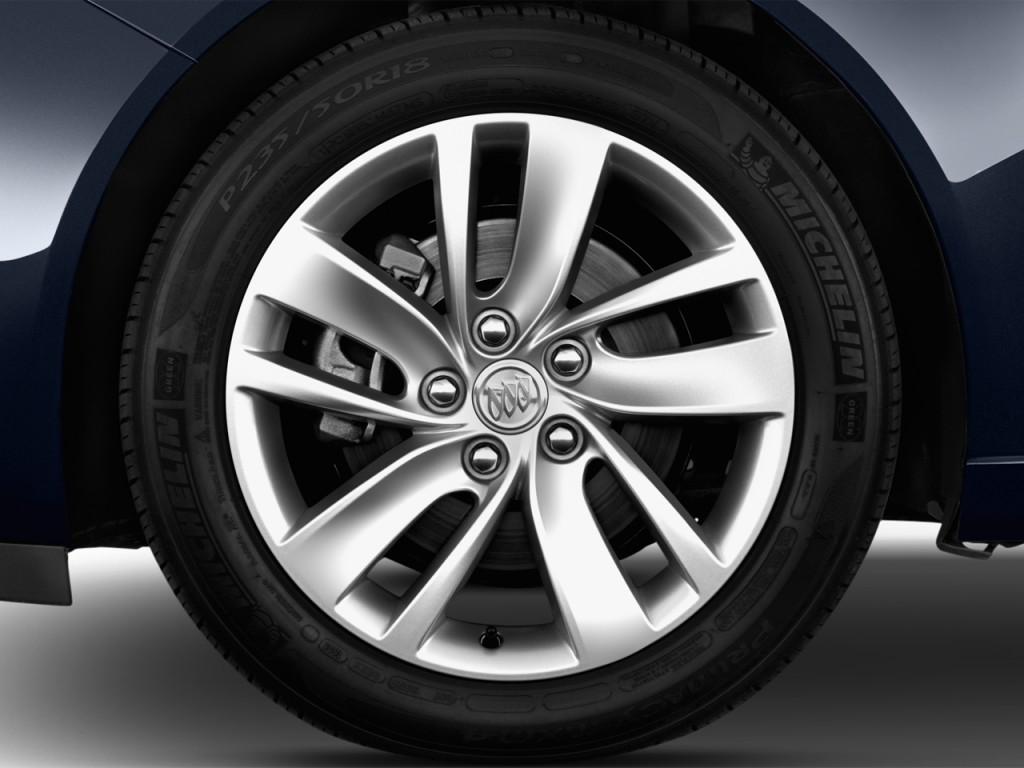 Image: 2014 Buick Regal 4-door Sedan Premium II FWD Wheel ...