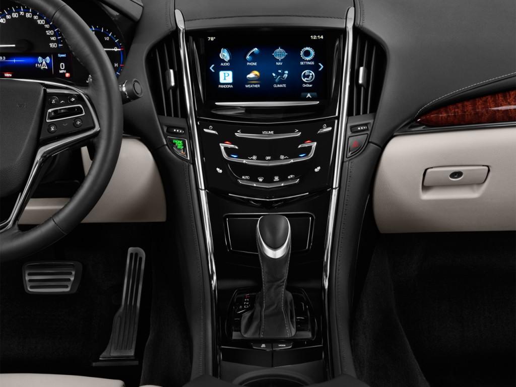 Image: 2014 Cadillac ATS 4-door Sedan 2.0L RWD Instrut Panel ...