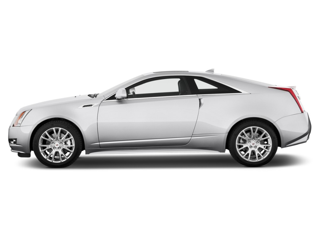 Image: 2014 Cadillac CTS 2-door Coupe Premium RWD Side ...