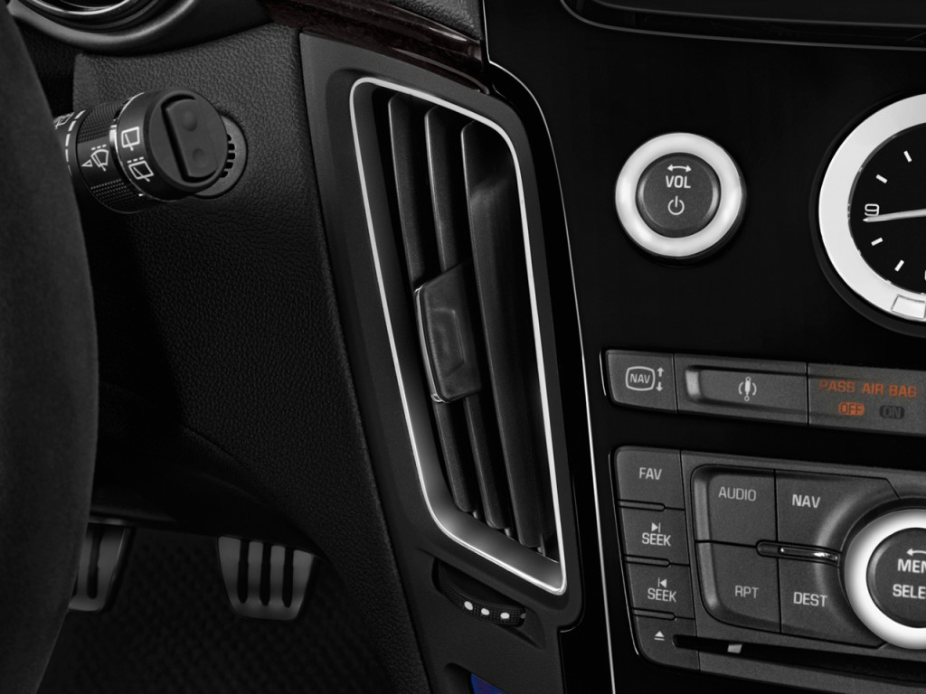 Image 2014 Cadillac Cts V 2 Door Coupe Air Vents Size