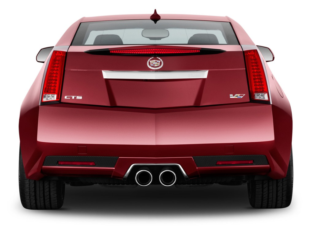 Image 2014 Cadillac Cts V 2 Door Coupe Rear Exterior View