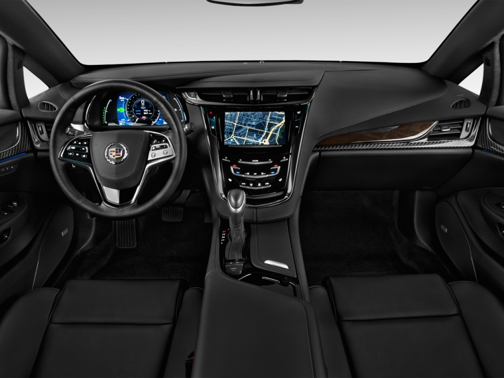 Image: 2014 Cadillac ELR 2-door Coupe Dashboard, size ...