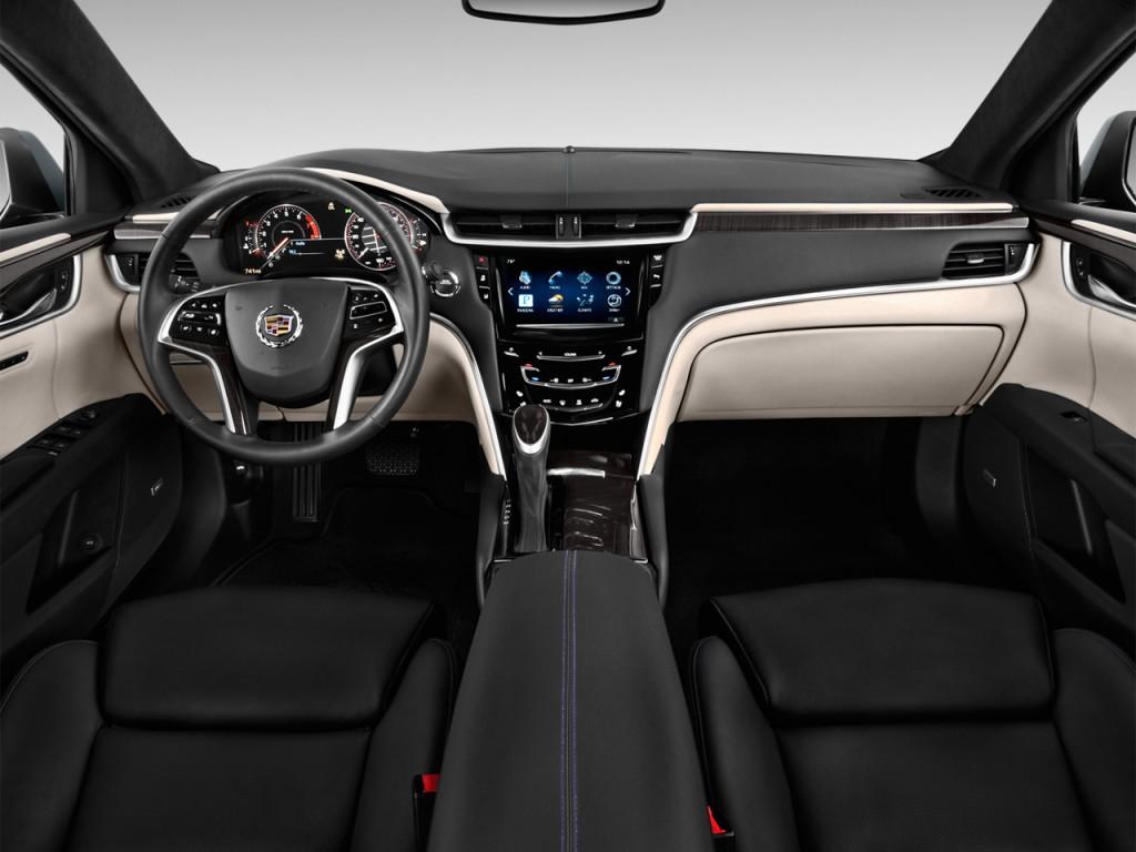 Image: 2014 Cadillac XTS 4-door Sedan Platinum FWD ...