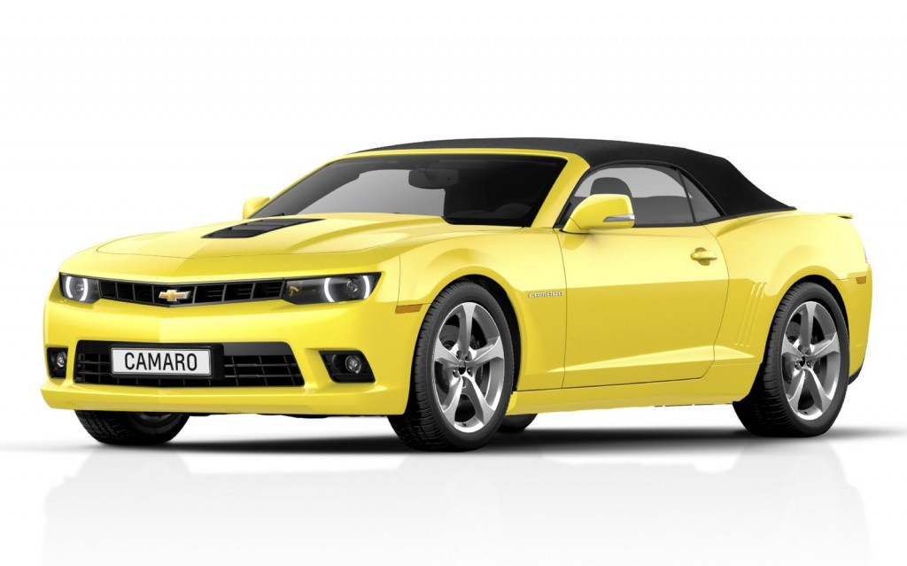 2014 Chevrolet Camaro Convertible Revealed Debuts In Frankfurt