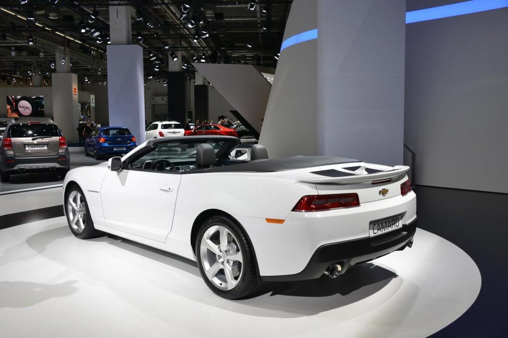 2014 Chevrolet Camaro Convertible (Euro spec), 2013 Frankfurt Auto Show