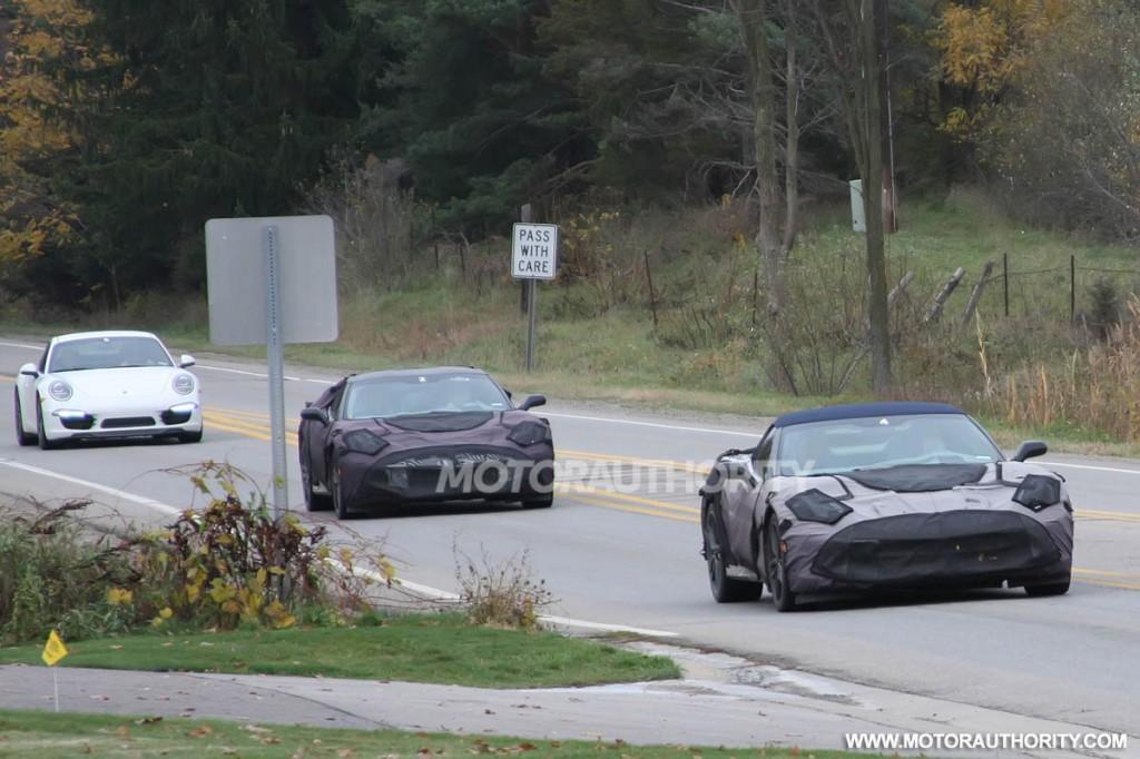 2014 Chevrolet Corvette (C7) Convertible spy shots