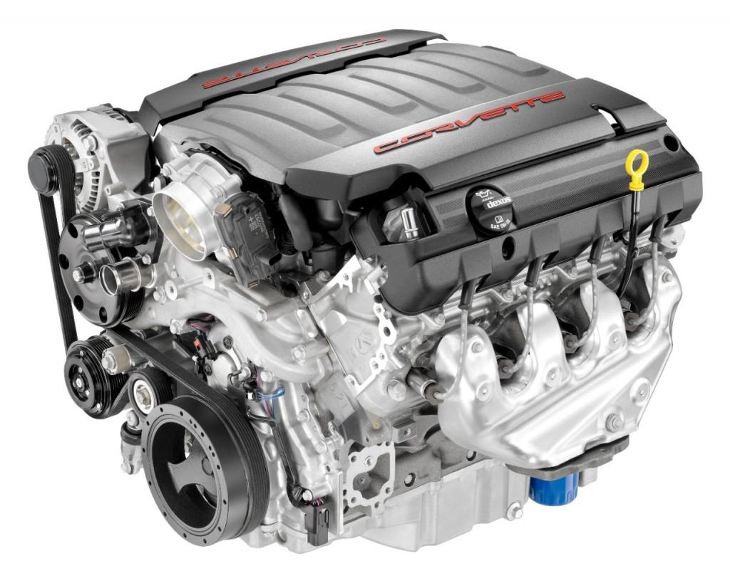2014 Chevrolet Corvette LT-1 V-8 engine