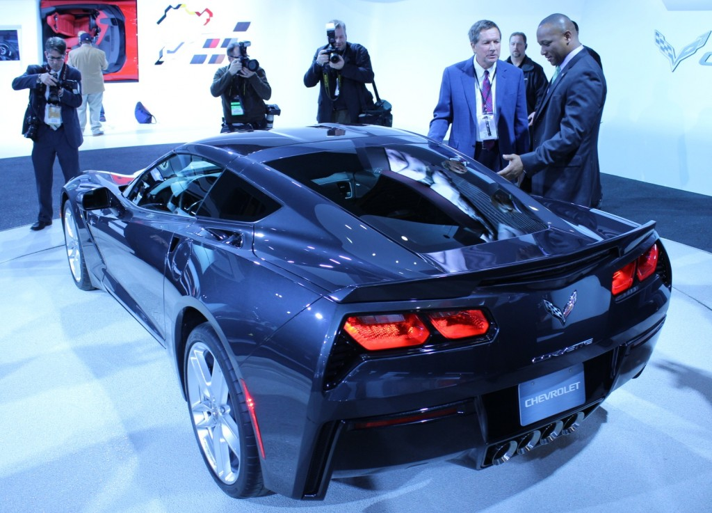 Michigan Governor Rick Snyder, and the 2014 Chevrolet Corvette Stingray
