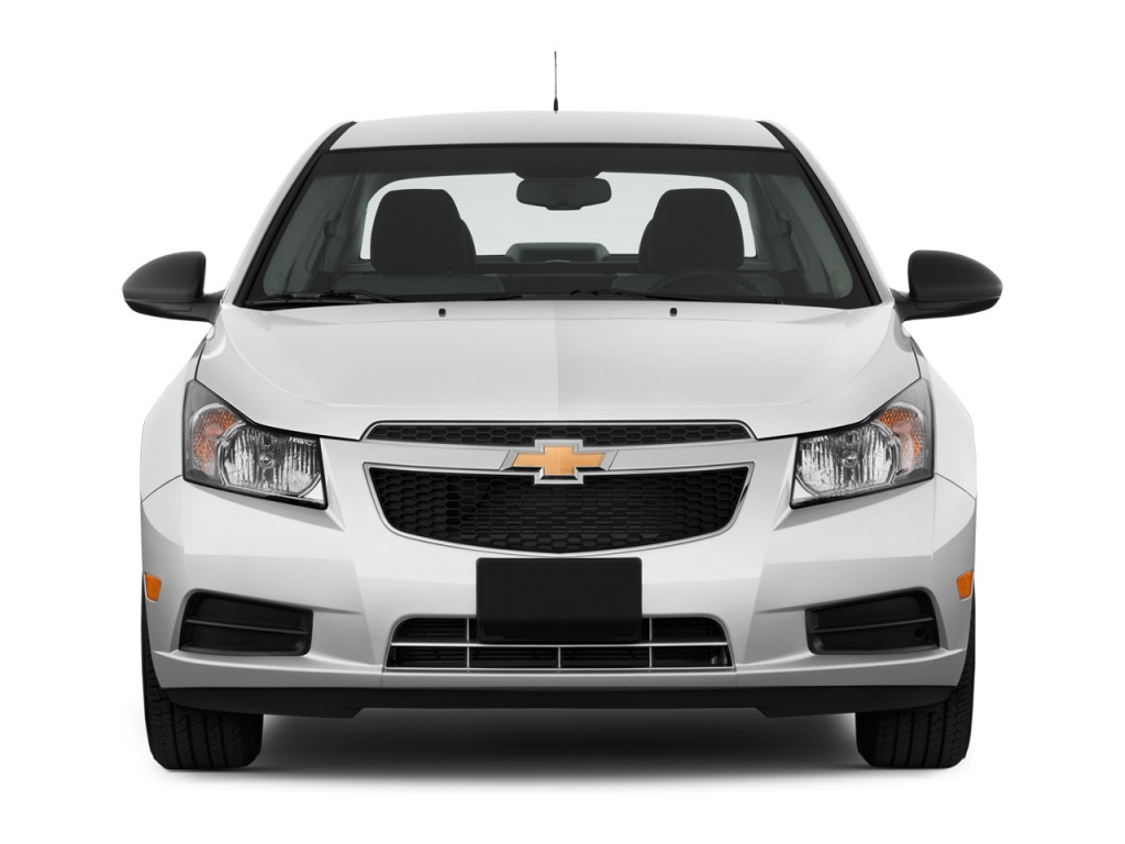Image: 2014 Chevrolet Cruze 4-door Sedan Auto LS Front ...