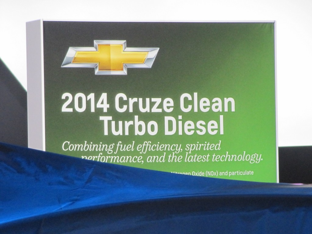 2014 Chevrolet Cruze Clean Turbo Diesel, 2013 Chicago Auto Show