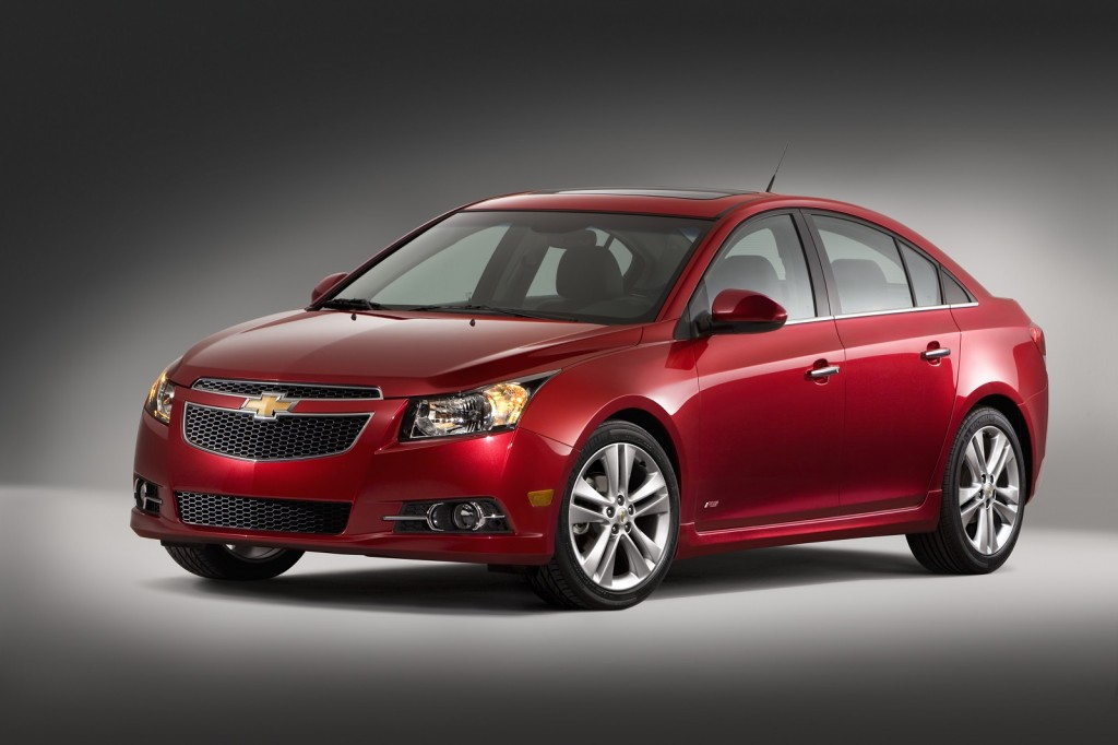 Takata Airbag >> 2013-2014 Chevrolet Cruze Recalled For Faulty Airbags Made By Takata