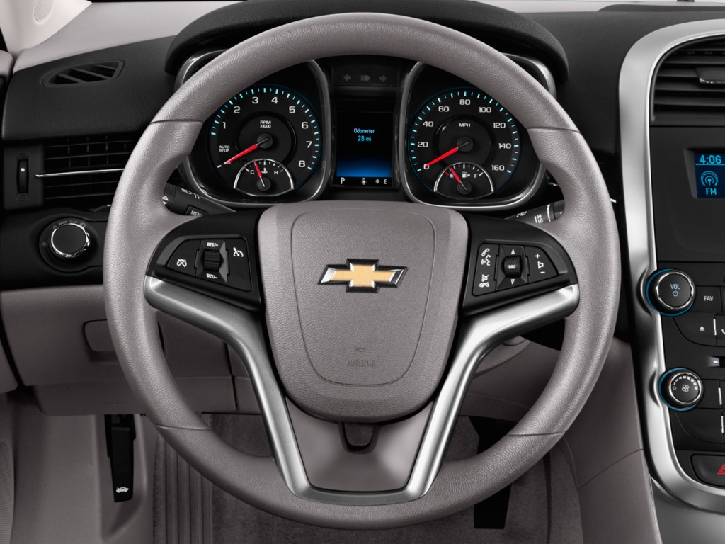 Image: 2014 Chevrolet Malibu 4-door Sedan LS w/1LS Steering Wheel, size: 1024 x 768, type: gif ...