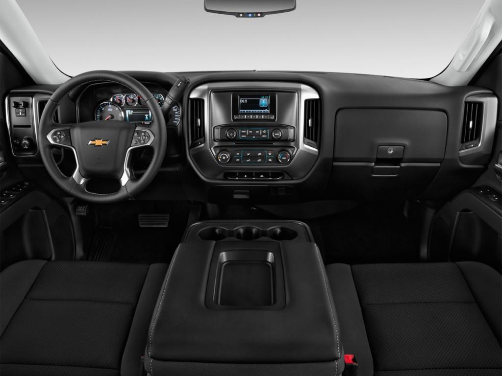Image: 2014 Chevrolet Silverado 1500 2WD Double Cab 143.5 ...