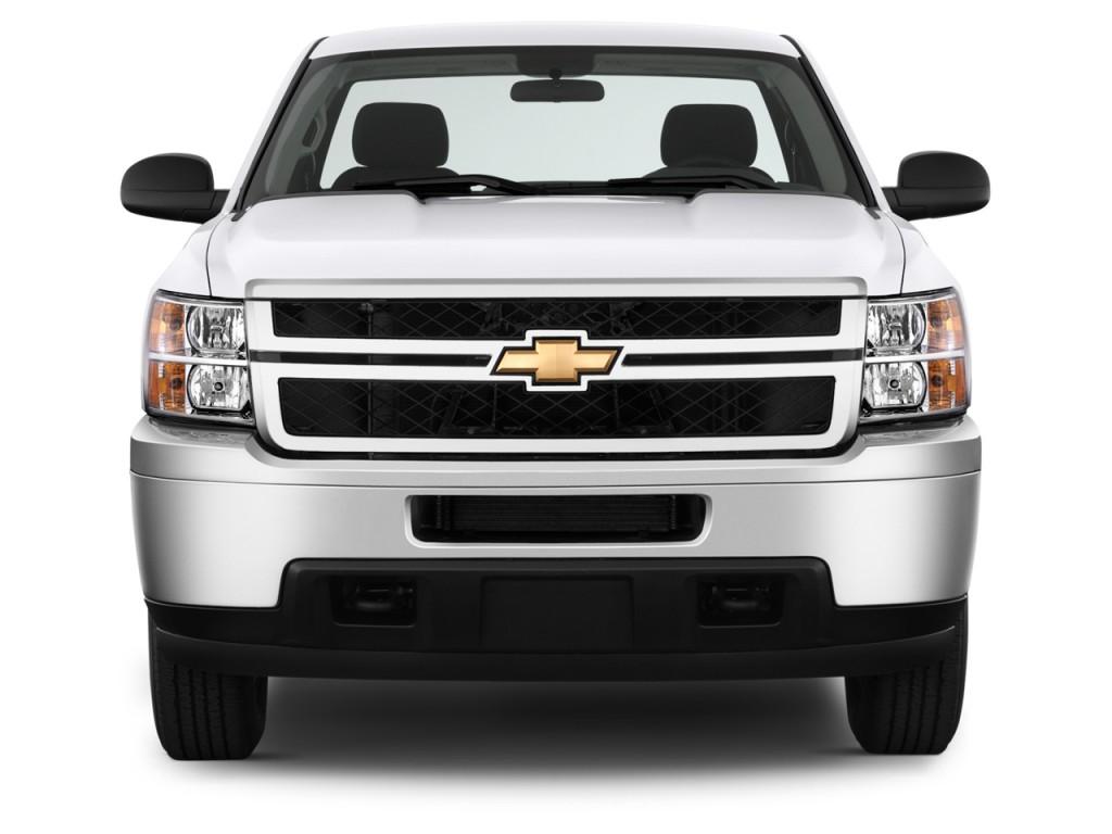 image 2014 chevrolet silverado 2500hd 2wd reg cab 133 7 work truck front exterior view size. Black Bedroom Furniture Sets. Home Design Ideas