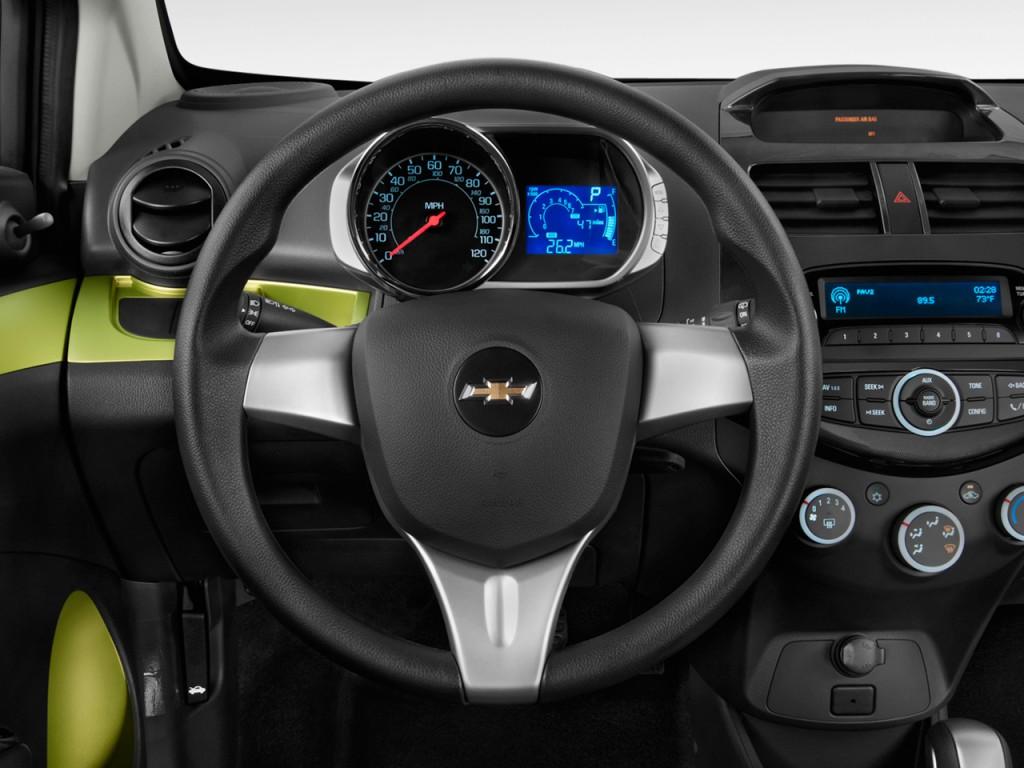 2014 Chevrolet Spark 5dr HB CVT LS Steering Wheel