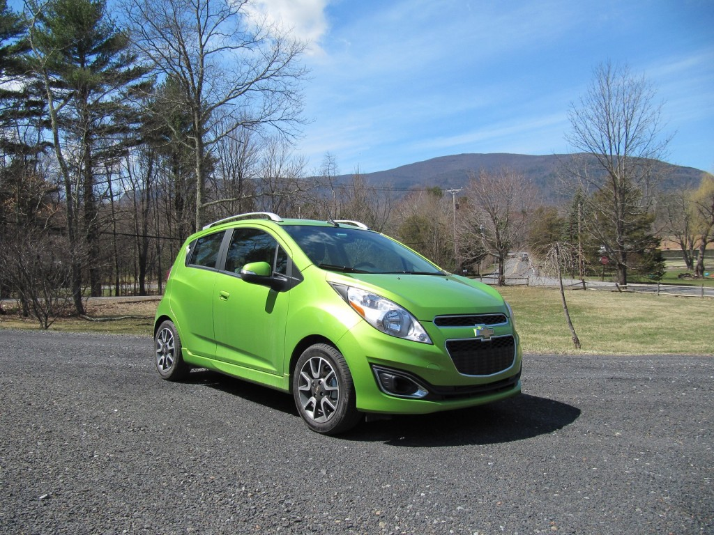 2014 Chevrolet Spark, Catskill Mountains, Apr 2014