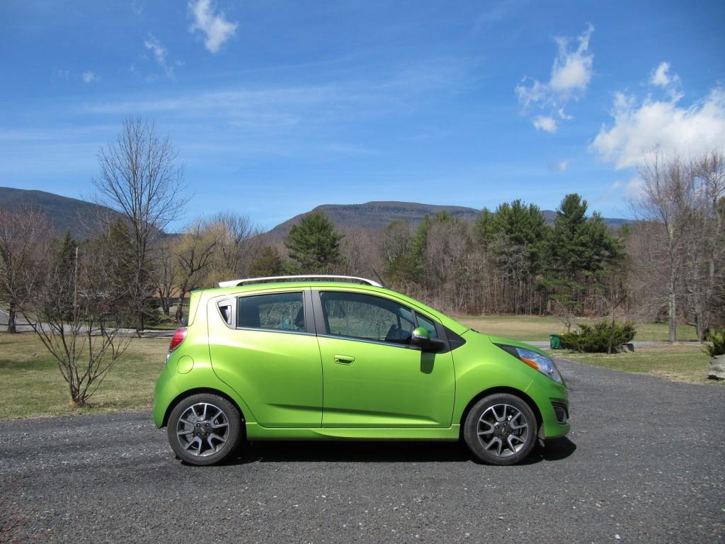 2014 Chevrolet Spark, Catskill Mountains, Apr 2014