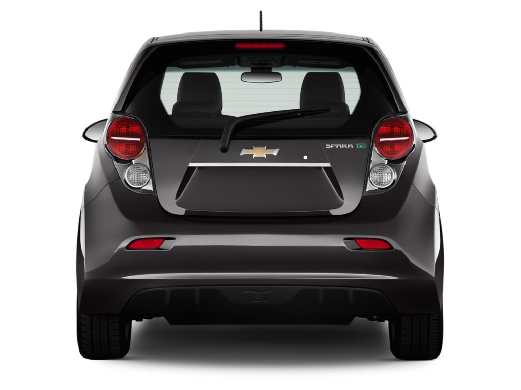 image 2014 chevrolet spark ev 5dr hb lt w 1sa rear. Black Bedroom Furniture Sets. Home Design Ideas