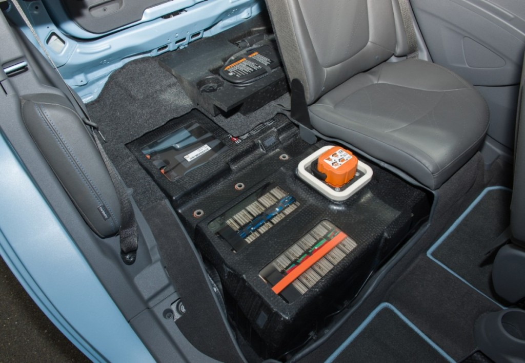 Lithium-ion battery pack for 2014 Chevrolet Spark EV electric car