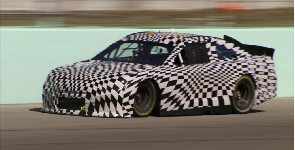 2014 Chevrolet SS in NASCAR guise