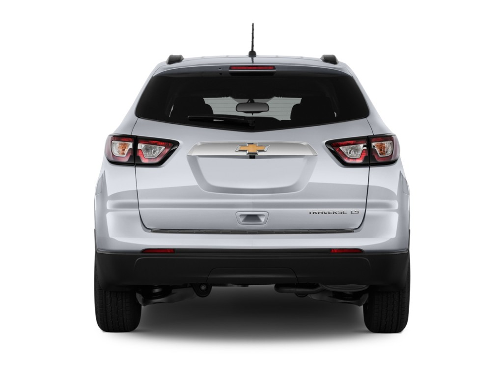 Image: 2014 Chevrolet Traverse FWD 4-door LS Rear Exterior ...