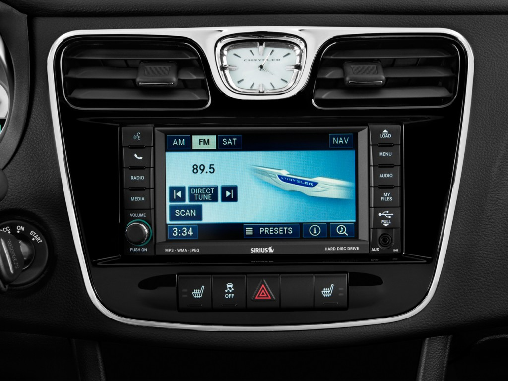 Image 2014 chrysler 200 4 door sedan limited audio system - 2016 chrysler 200 interior lights ...