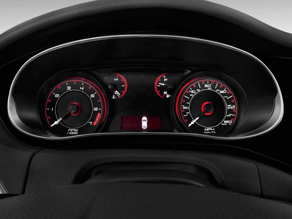 Dodge Dart Turbo >> Image: 2014 Dodge Dart 4-door Sedan SE Instrument Cluster, size: 1024 x 768, type: gif, posted ...