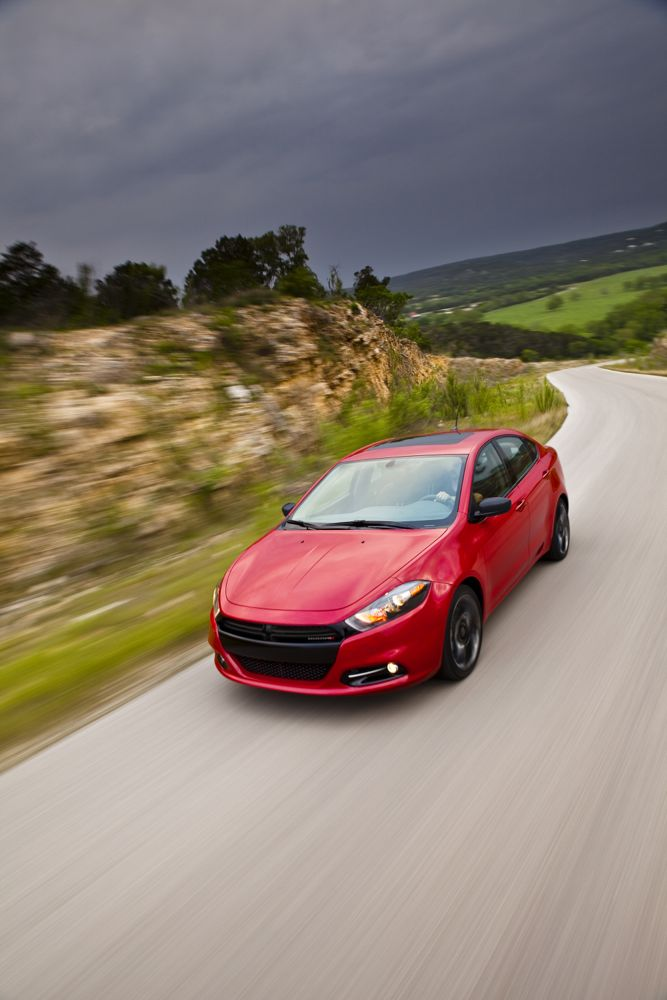 2014 dodge dart blacktop debuts ahead of detroit auto show. Black Bedroom Furniture Sets. Home Design Ideas