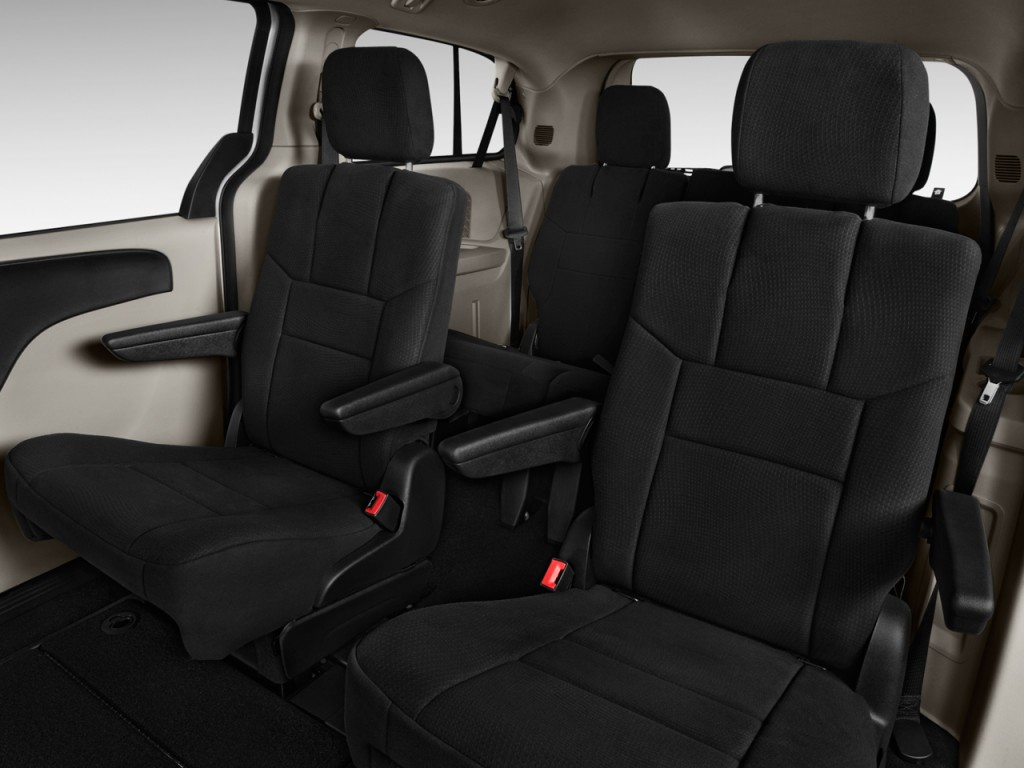 Image: 2014 Dodge Grand Caravan 4-door Wagon SE Rear Seats, size: 1024 x 768, type: gif, posted ...