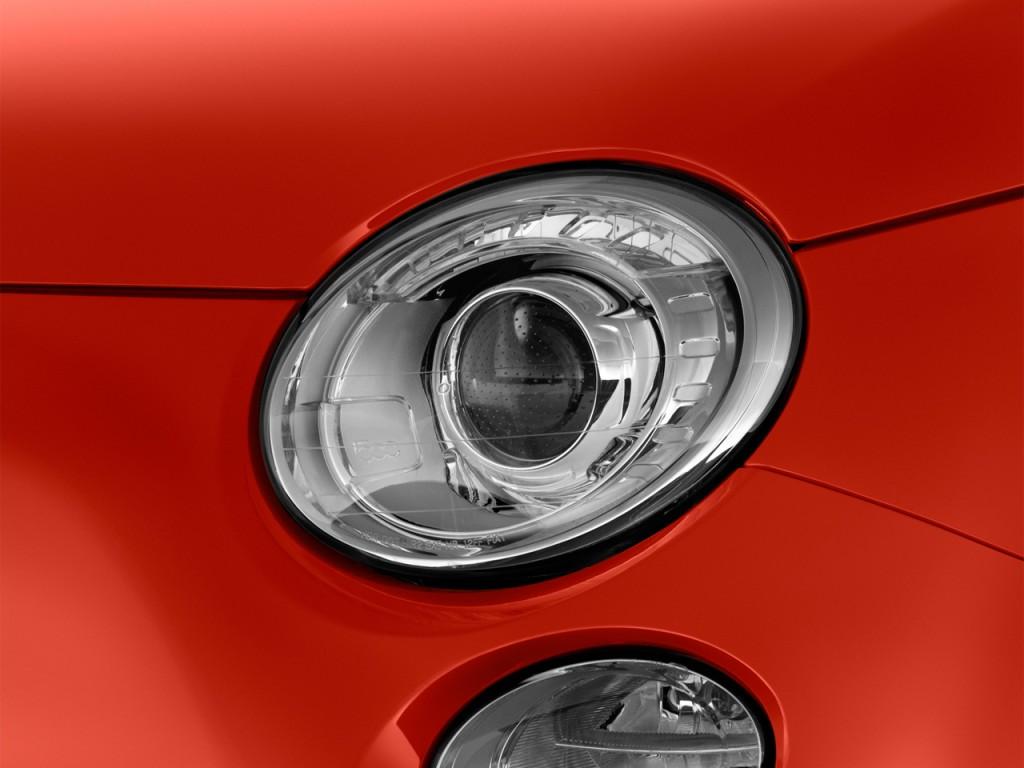 Image 2014 Fiat 500e 2 Door Hb Battery Electric Headlight