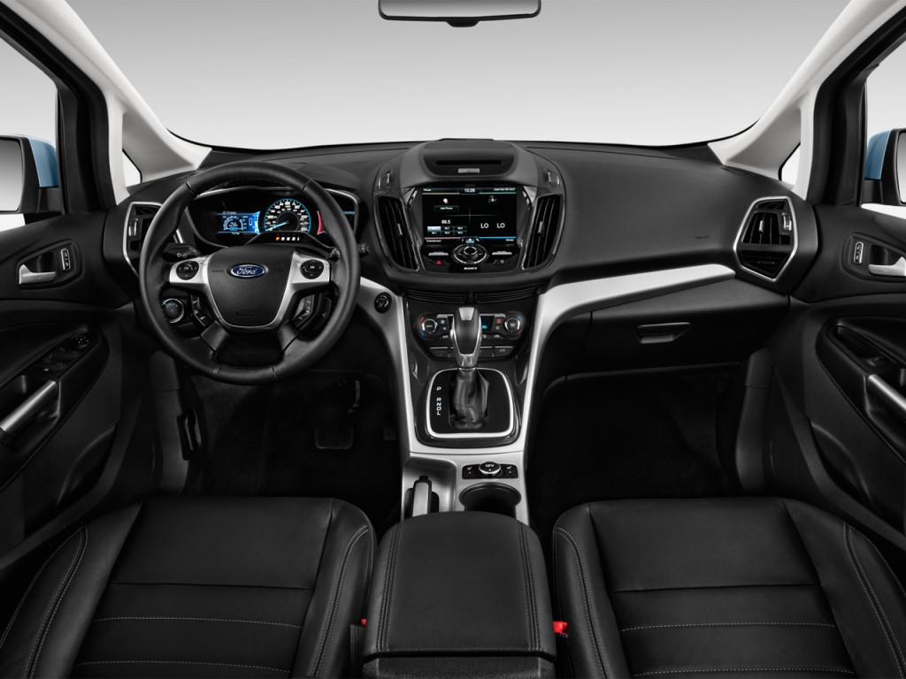 Image: 2014 Ford C-Max Hybrid 5dr HB SEL Dashboard, size: 1024 x 768, type: gif, posted on ...