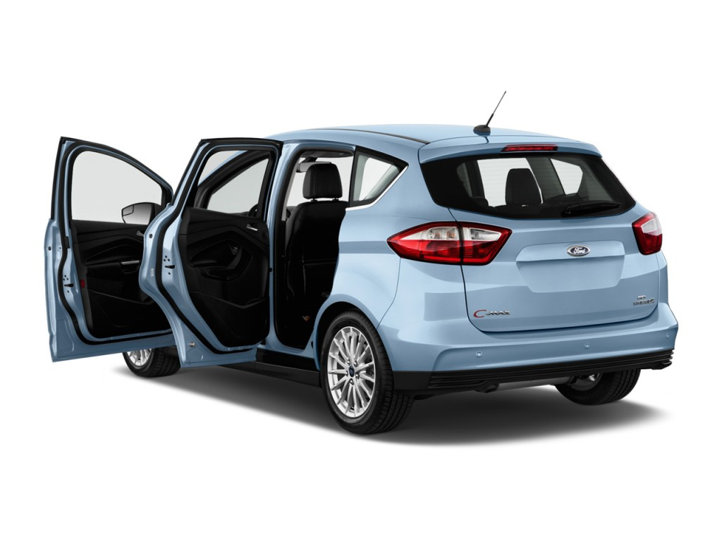 Image 2014 Ford C Max Hybrid 5dr Hb Sel Open Doors Size