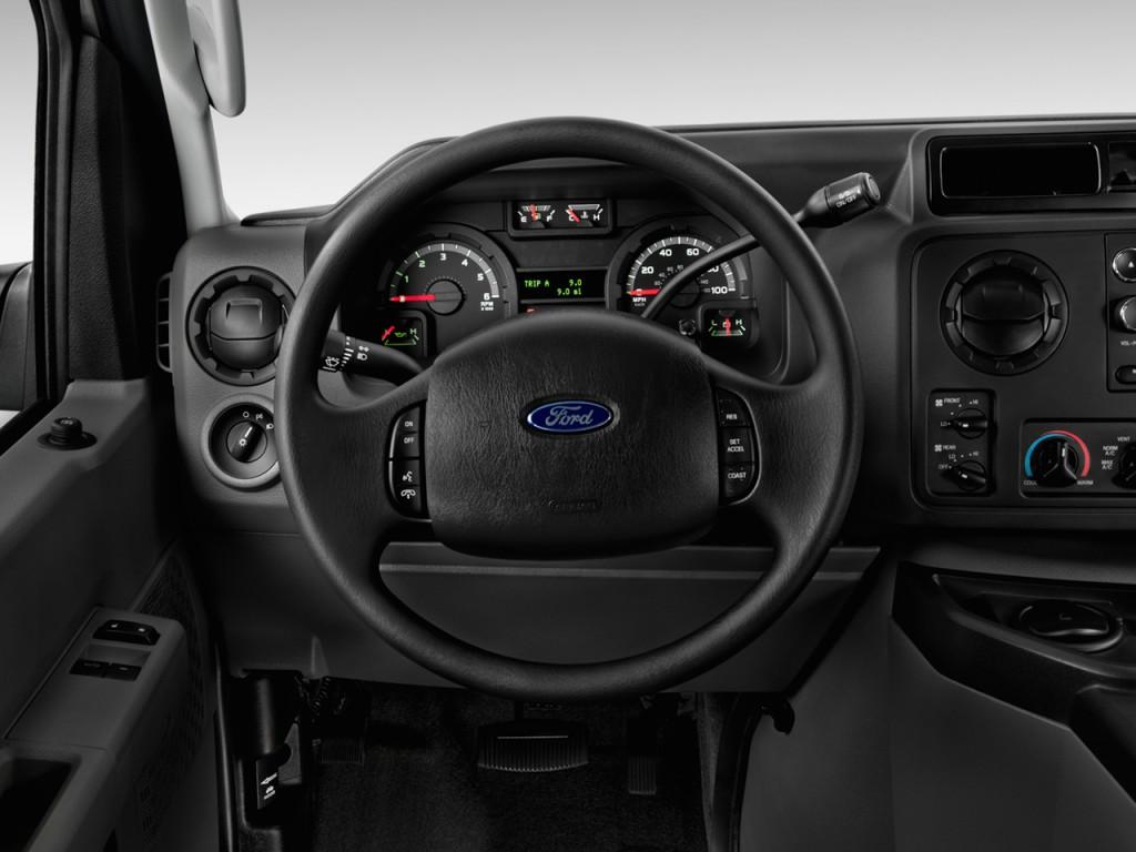 Image 2014 Ford Econoline Wagon E 150 XLT Steering Wheel