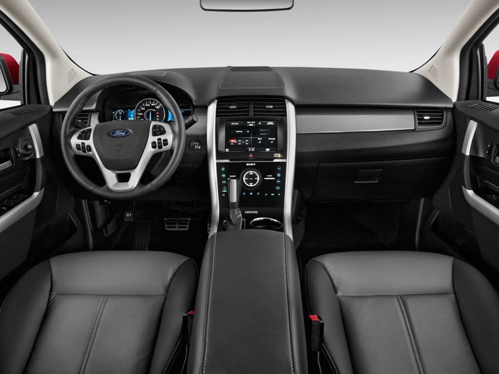 image 2014 ford edge 4 door sport fwd dashboard size 1024 x 768 type gif posted on. Black Bedroom Furniture Sets. Home Design Ideas