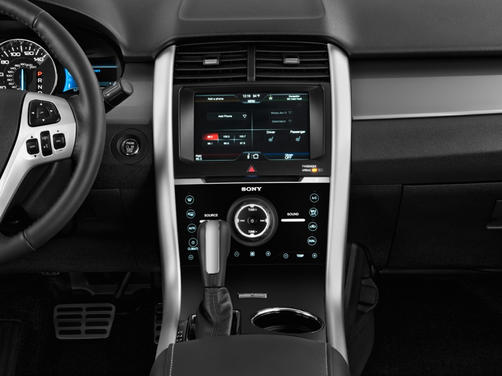 Image: 2014 Ford Edge 4-door Sport FWD Instrument Panel ...