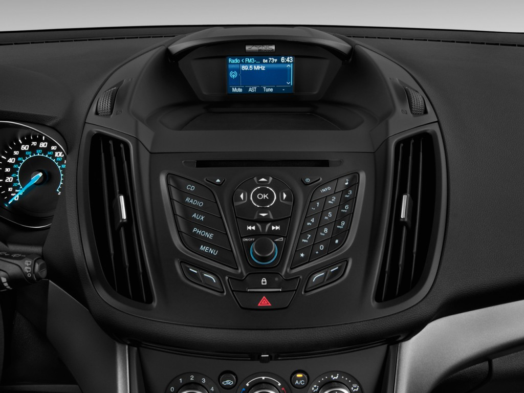 Image 2014 Ford Escape Fwd 4 Door S Audio System Size